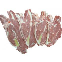Basse côte de veau avec os