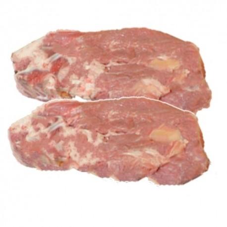 Collier de veau avec os