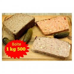 Pâté grec 1kg 500